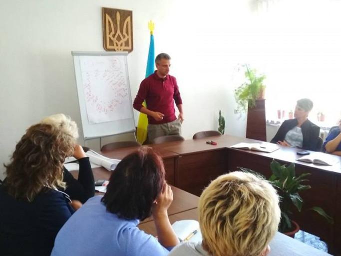 Тренінги проводила ВОГМО «Волинський Інститут розвитку та підтримки Громадських ініціатив».