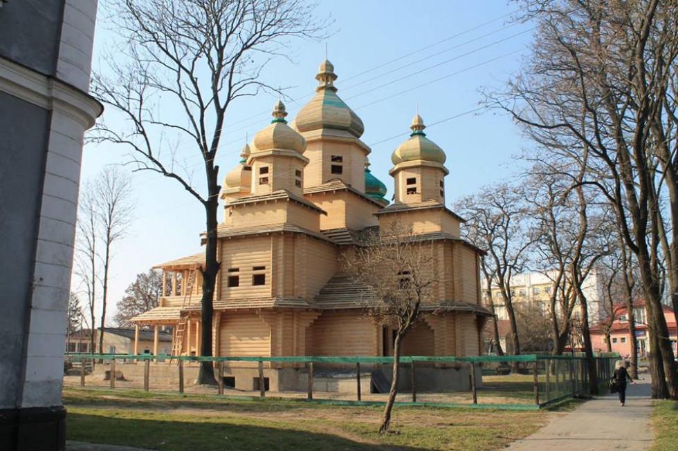 Нагадаємо, храмЦеркву збудовано за оригінальним проектом відомого архітектора з Івано-Франківська Ореста Коса