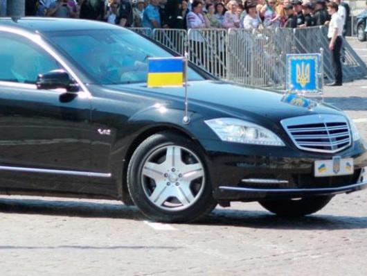 Президентський кортеж, фото ілюстративне