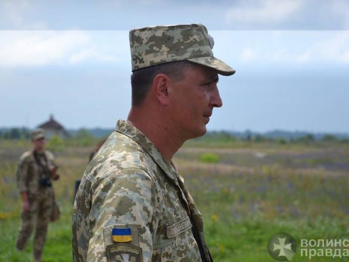 Підполковник Володимир Сахневич