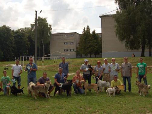 З нагоди Дня міста відбулася міжрайонна виставка мисливських собак