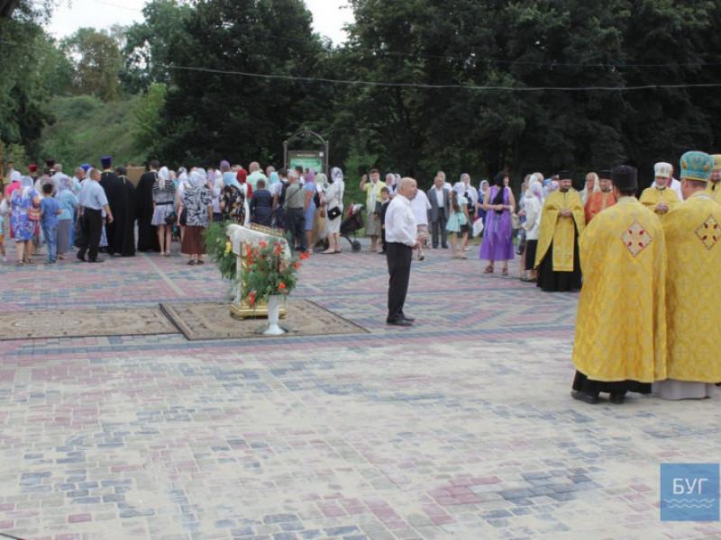 Під час спільної молитви з нагоди Дня Свято Рівноапостольного князя Володимира
