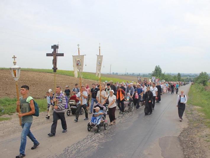 Міжнародний Хресний Хід православних з Польщі, через Білорусь, на Почаїв вже став традиційним.