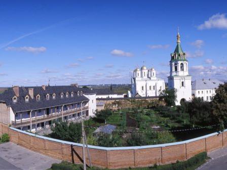 Святогорський Успенський Зимненський ставропігійний монастир, с. Зимне