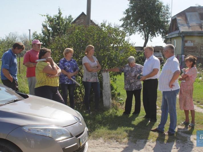 Разом із помічником нардепа, на прийомах був присутній голова сілсьької ради Юрій Ковальчук