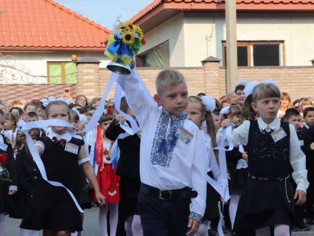 У школах Володимирщини пролунав перший дзвоник