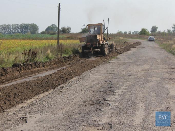 Розпочали ремонт найгіршої дороги на Володимирщині