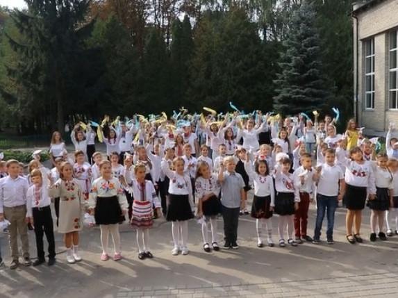 У Володимирі флешмобом зустріли Міжнародний день миру