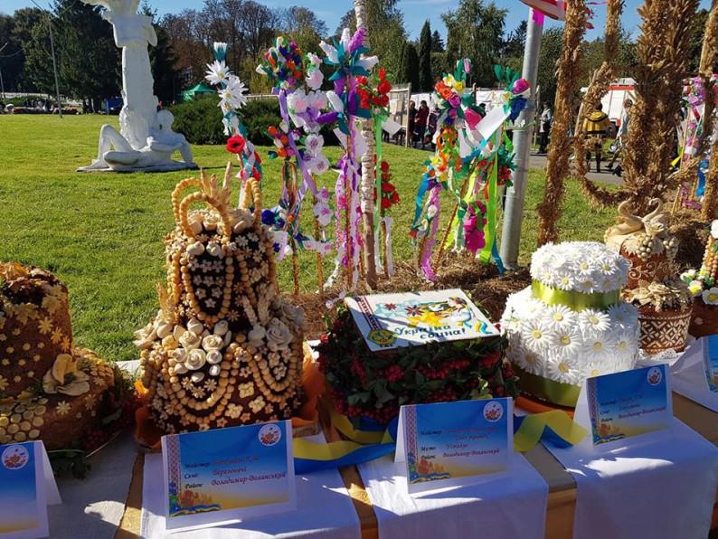На Волині відбувся фестиваль «Український коровай-сузір'я»
