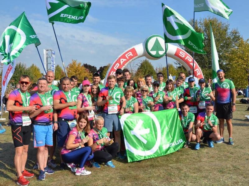 Команда «Epikur» на «33rd Budapest Maratone»