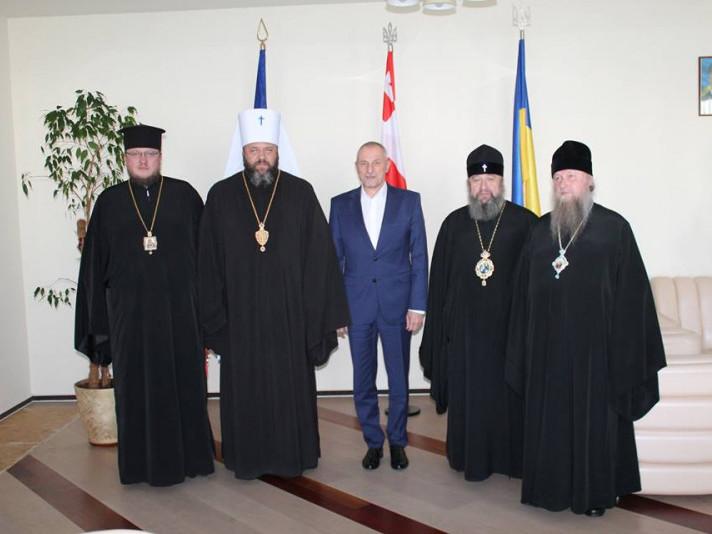 Ковельський митрополит зустрівся із головою Волинської ОДА