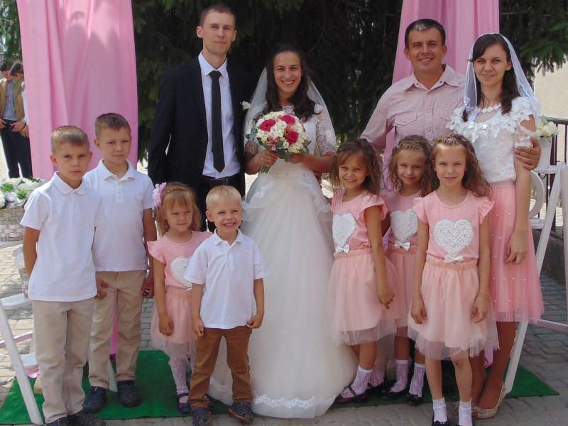 Багатодітна сім'я Мартинюків