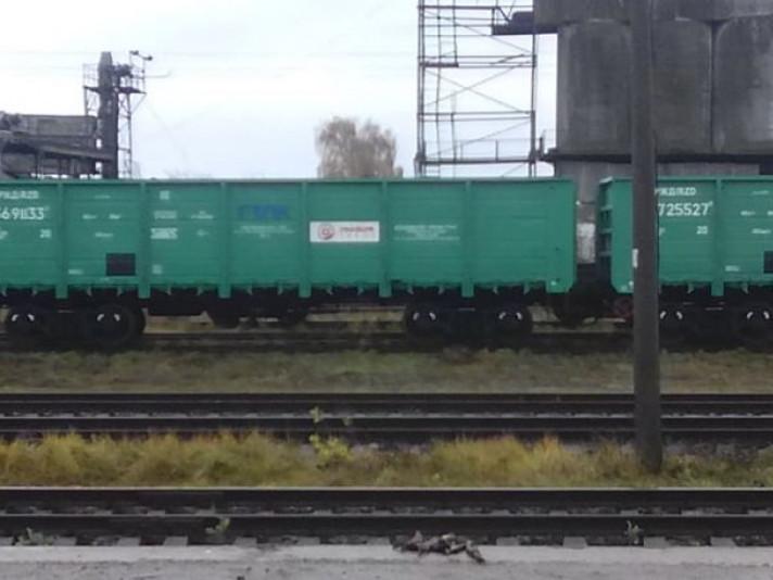 На Волині знову помітили російські вагони