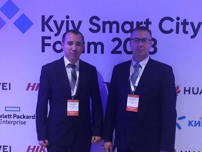Володимирські посадовці беруть участь уKyiv Smart City Forum 2018