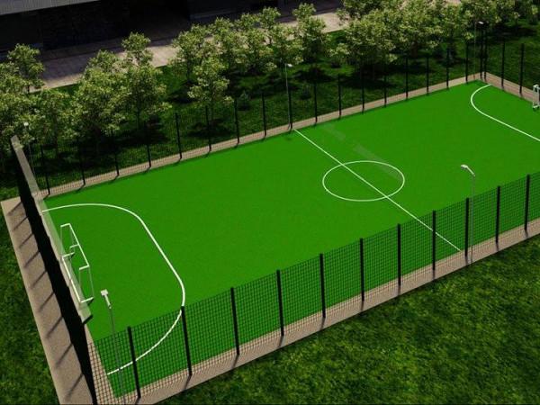 Місто на Волині отримає новеньке футбольне поле зі штучним покриттям