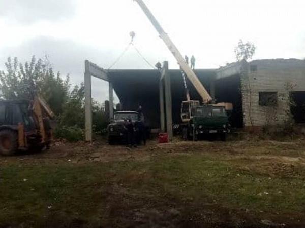 Прокуратура розбереться, хто винний у незаконному демонтажі військового майна на Волині