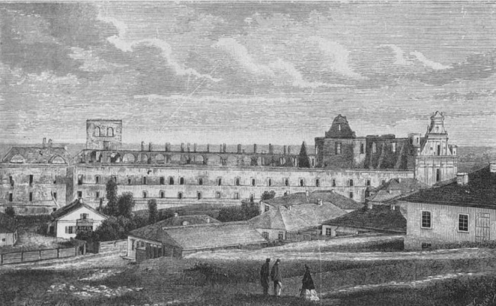 Руїни єзуїтського монастиря, місто Острог