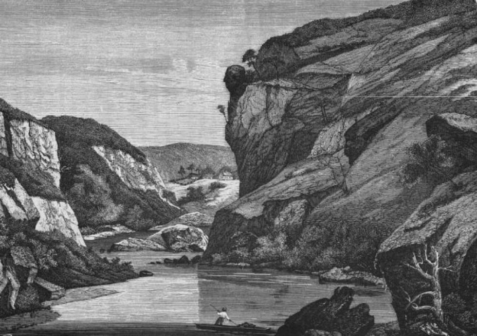 Скеля Сокіл під Житомиром