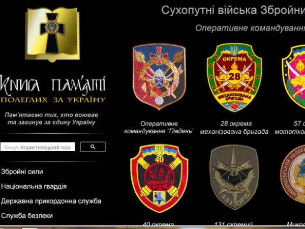 Прізвища загиблих у війні з Росією володимирчан потрапили до списку Книги пам'яті полеглих за Україну