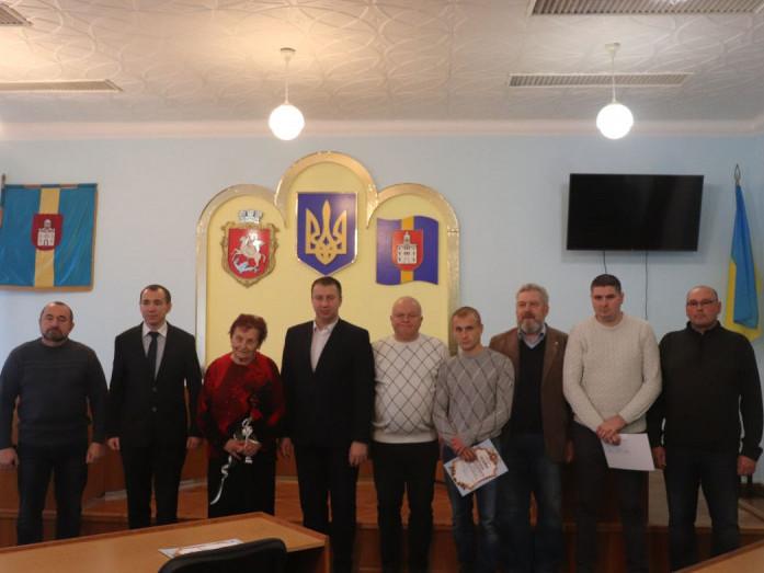 У Володимирі привітали захисників України та волонтерів