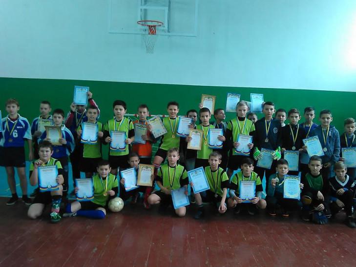 На Володимирщині відбулися змагання з футзалу серед школярів