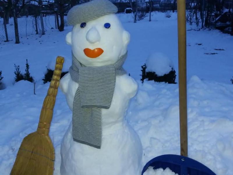 Кумедні сніговики