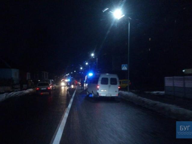 У Володимирі ДТП, автівка збила людину