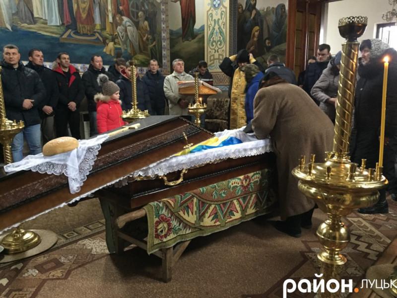 Кульчин: у селі поховали бійця АТО