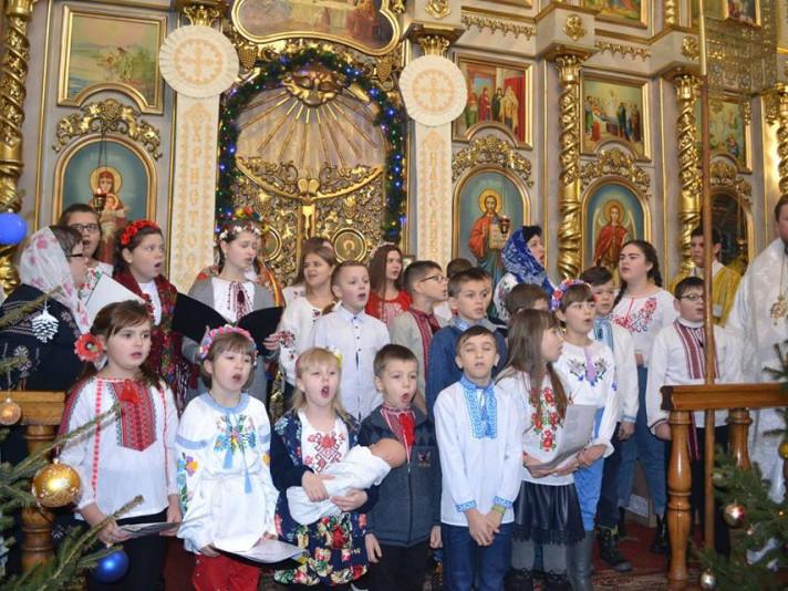 У Володимирі відзначили храмове свято собору Різдва Христового.