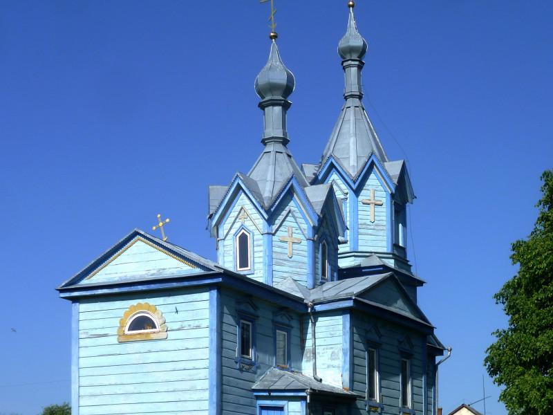 Хрестовоздвиженська церква у Хворостові (1876 р.)