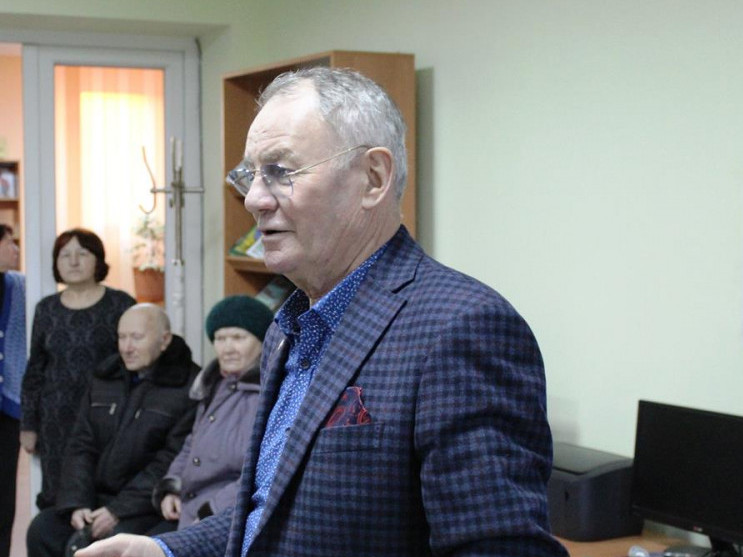 Княже місто відвідав письменник Володимир Яворівський