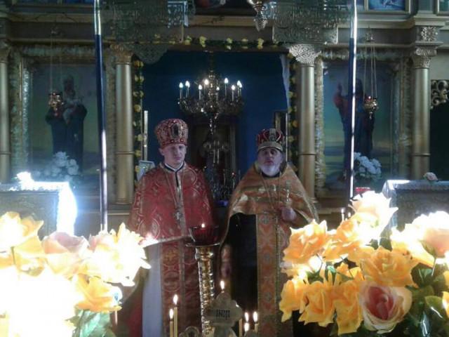 У храмі на Володимирщині відбулося перше богослужіння після переходу до ПЦУ