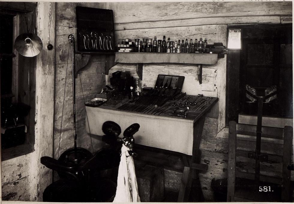 Стоматологічний кабінет с. Микуличі, Волинь, 1917 р.