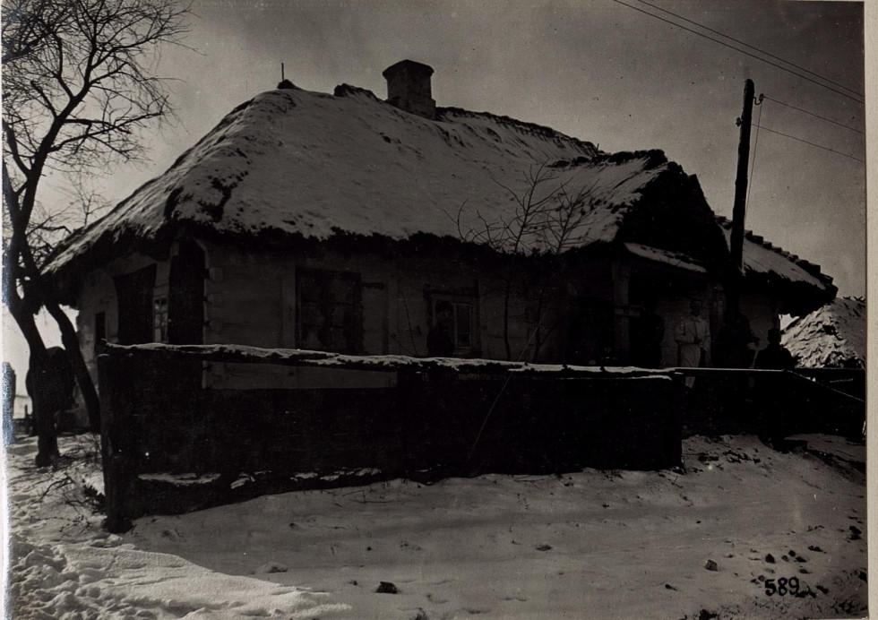 Стоматологічна амбулаторія, с. Павловичі, Волинь, 1916 р.