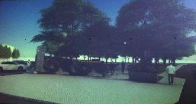 Пам'ятник Героям Небесної Сотні та Борцям за волю України у сквері напроти ресторану «Дружба»