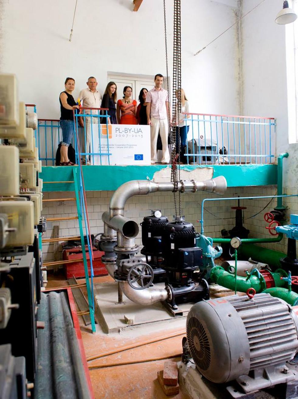 Основна мета ІІ фази – реконструкція центрального та північного водозаборів і водопровідних мереж у Володимирі-Волинському.