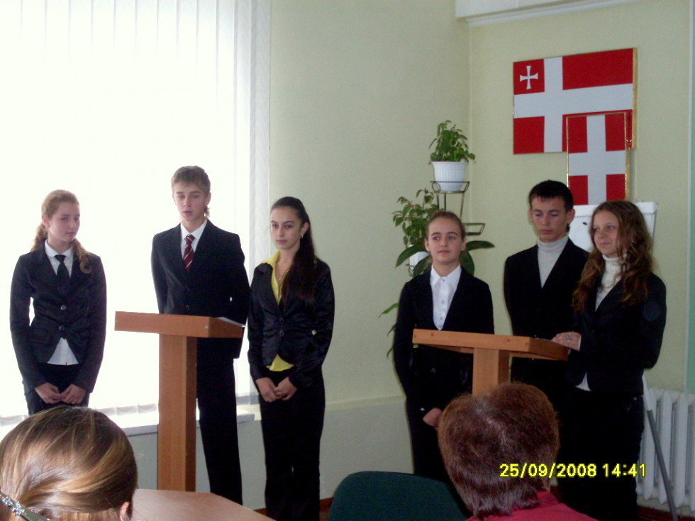 Шкільний європейський клуб «AVIAS» був створений у Володимир-Волинській гімназіїім.О.Цинкаловського ще у 2004 році