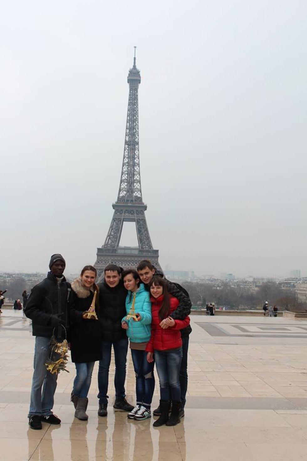 Одним із напрямків діяльності Шкільного європейського клубу є спілкування зі своїми ровесниками з-за кордону