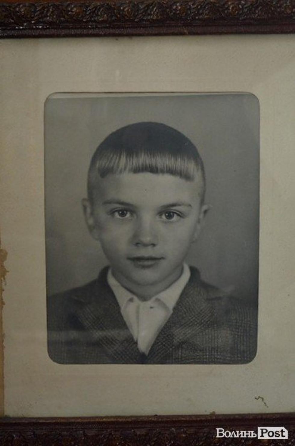 Валерій Діброва у шкільні роки