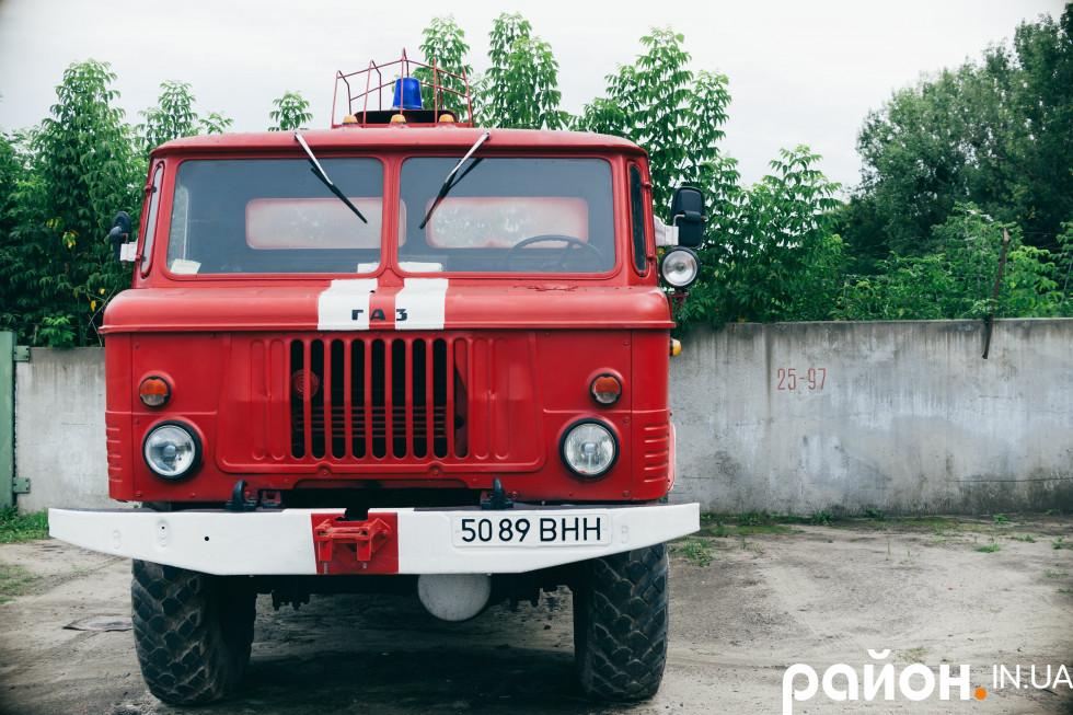 Володимир-Волинський лісгосп має дві власні пожежні машини