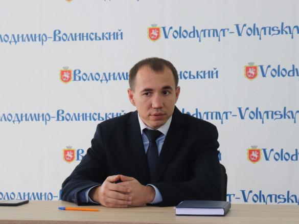 Перший заступник міського голови Володимира-Волинського Ярослав Матвійчук