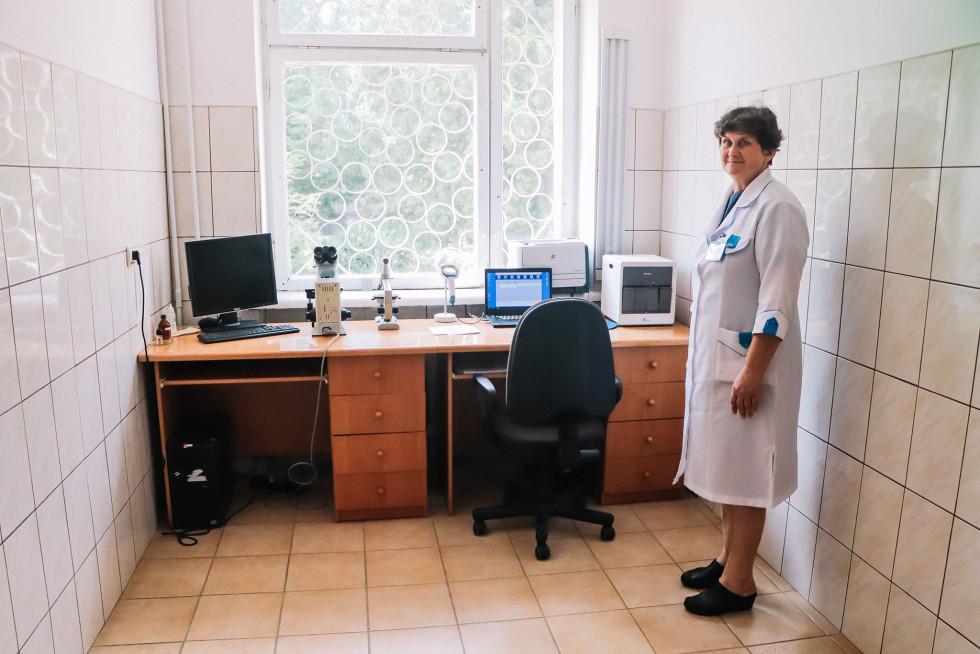 Завідувачка лабораторії ТМО Світлана Каледіна